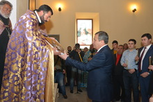 Օծվեց  Ձորագյուղի վերանորոգված  Սուրբ Աստվածածին  եկեղեցին