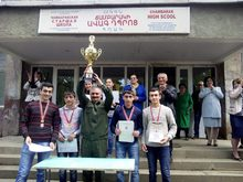 Ճամբարակի ավագ դպրոցի թիմը    ռազմագիտություն առարկայից հանրապետական օլիմպիադայում  գրավել է 2-րդ տեղը