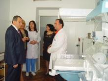 Գեղարքունիքի մարզպետ Ռաֆիկ Գրիգորյանն աշխատանքային հերթական այցով եղավ Սեւանի բժշկական կենտրոնում