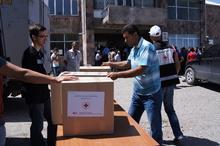 Հայկական Կարմիր Խաչը օգնություն է  ցուցաբերել  Կարճաղբյուրի տնտեսություններին