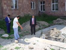 Գեղարքունիքի մարզպետը  Սեւանի տարածաշրջանում դիտարկեց  շինարարական աշխատանքների ընթացքը