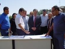 Մեկնարկեցին  Սևան քաղաքի    հիվանդանոցի նոր  շենքի կառուցման աշխատանքները