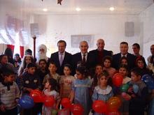 ՀՀ ԱԺ նախագահ Գալուստ Սահակյանը շնորհավորեց  Գավառի մանկատան սաներին