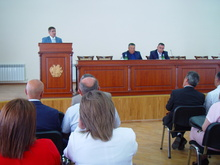 Մարզպետ Կարեն Բոթոյանը խորհրդակցություն անցկացրեց  մարզի դպրոցների տնօրենների հետ