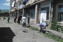 Գեղարքունիքի մարզի տարածքում  իրականացվեցին սանիտարական մաքրման աշխատանքներ