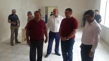 Գեղարքունիքի մարզպետն այցելեց Գավառի վերանորոգվող   երիտասարդական   կենտրոն