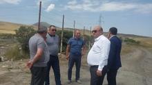 Գեղարքունիքի մարզպետը վերահսկում է «Մաքուր Հայաստան» ծրագրի շրջանակներում իրականացվող աշխատանքները