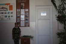 Գավառի թիվ 7  միջնակարգ դպրոցի ռազմագիտության դասասենյակն  անվանակոչվեց հերոս զինվոր Արման Ղանդիլյանի անունով