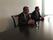 Մարզպետ Կարեն Բոթոյանը ներկայացրեց Վարդենիսի նորընտիր համայնքի ղեկավար Արամ Հարությունյանին