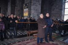 Գավառի Սուրբ Աստվածածին եկեղեցում տեղի ունեցավ Սուրբ Ծննդյան տոնին  նվիրված արարողություն