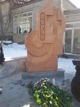 Կարմիրգյուղի թիվ 1 միջնակարգ դպրոցի բակում կանգնեցվեց  Արցախյան պատերազմում անհայտ կորած մարտիկի հիշատակին նվիրված աղբյուր-հուշարձան