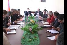 ՀՀ Տարածքային կառավարման և զարգացման նախարարի տեղակալն  աշխատանքային  հանդիպում ունեցավ Գեղարքունիքի  մարզպետարանում