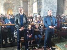 Գավառի Սուրբ Աստվածածին եկեղեցում տեղի ունեցան  Սուրբ  Զատկի տոնին նվիրված  արարողություններ