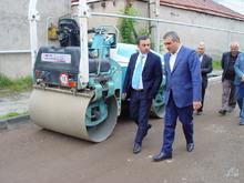 Գեղարքունիքի մարզպետ Իշխան Սաղաթելյանն այցելեց Սևան քաղաքի  մի քանի կազմակերպությունների  շինհրապարակներ