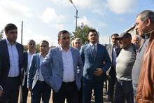 Գեղարքունիքի մարզպետ Իշխան Սաղաթելյանն աշխատանքային այց կատարեց Չկալովկա եւ Նորաշեն համայնքներ