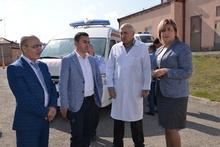 Գեղարքունիքի մարզի շտապօգնության ծառայությունները համալրվել են շտապօգնության նորագույն ավտոմեքենաներով