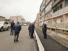 Մարտունի քաղաքում  սուբվենցիոն ծրագրով ճանապարհաշինական լայնածավալ աշխատանքներ են իրականացվել
