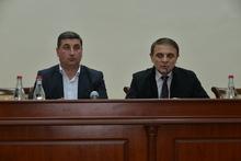 ՀՀ ոստիկանության պետի հանդիպումը՝  ռեյտինգային ընտրակարգով առաջադրված ՀՀ ԱԺ պատգամավորի թեկնածուների հետ
