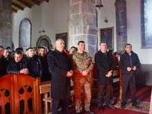 Նորակոչիկների առաջին խումբը  մեկնեց Հայոց բանակ