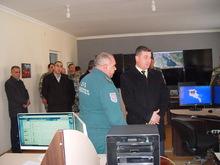 Գեղարքունիքի մարզպետն աշխատանքային այց կատարեց ՀՀ ԱԻՆ Գեղարքունիքի մարզի փրկարարական վարչություն