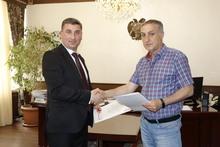 Գեղարքունիքի մարզպետարանի  և  «Հայկական  Կարիտաս» ԲՀԿ-ի միջեւ ստորագրվեց  փոխըմբռնման  հուշագիր