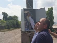 Մաքենիսում սուբվենցիոն ծրագրով գիշերային լուսավորվածությամբ է ապահովվել ողջ գյուղը
