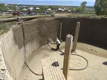 Հիմնանորոգվում է Վարդաձոր գյուղի  օրվա կարգավորիչ ջրամբարը