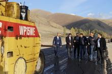 Նախարար Սուրեն Պապիկյանն այցելեց Շողակաթ-Վարդենիս ավտոճանապարհի շինարարական տեղամաս