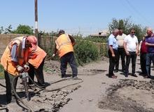 Պետական միջոցներով  կշարունակվի Գանձակ գյուղի  Բաղրամյան փողոցի հիմնանոնորոգումը