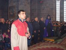 Պատարագ Գավառ քաղաքի Սուրբ Աստվածածին  եկեղեցում
