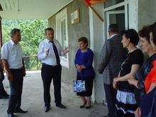 Գեղարքունիքի մարզպետն աշխատանքային այցով եղավ  Ճամբարակի տարածաշրջանում
