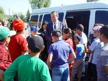Դպրոցականները  մեկնեցին ճամբարային հանգսի